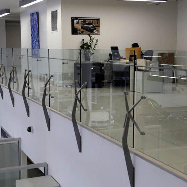 هندریل شیشه ای فیکس پوینت اسپایدر