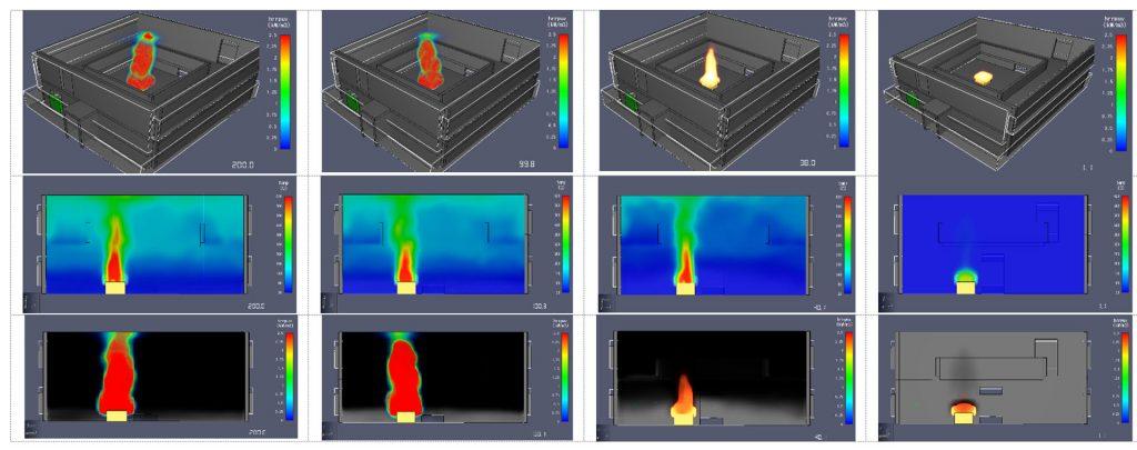 مدلسازی استراتژی آتش پرده ضد دود 3