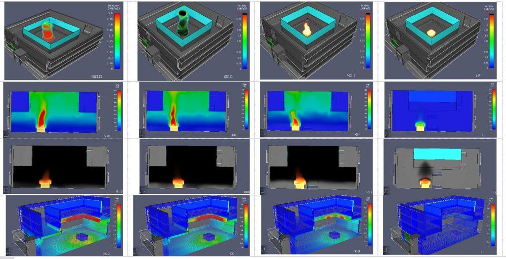 مدلسازی استراتژی آتش پرده ضد دود 2